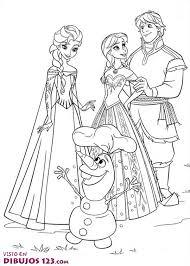 Dibujos De Frozen Para Colorear E Imprimir