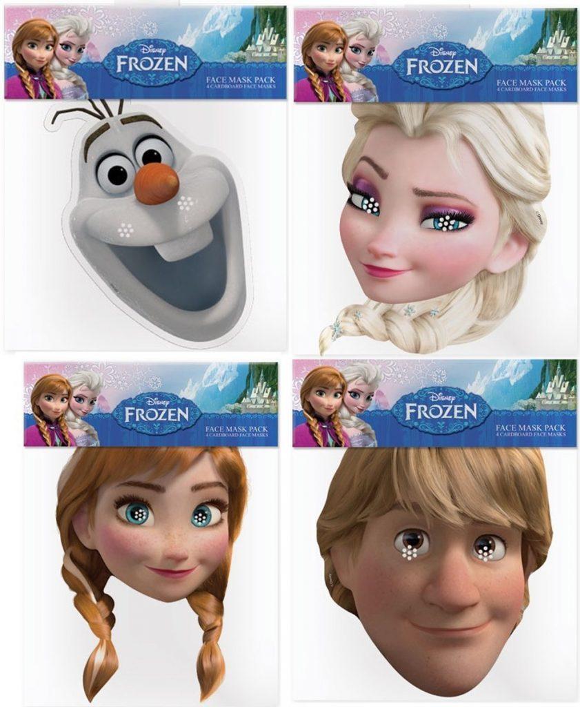 Máscaras y disfraces de Frozen 2
