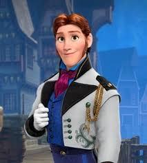 príncipe de frozen