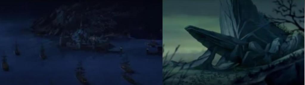 Reino destruido por el hielo y por las hienas