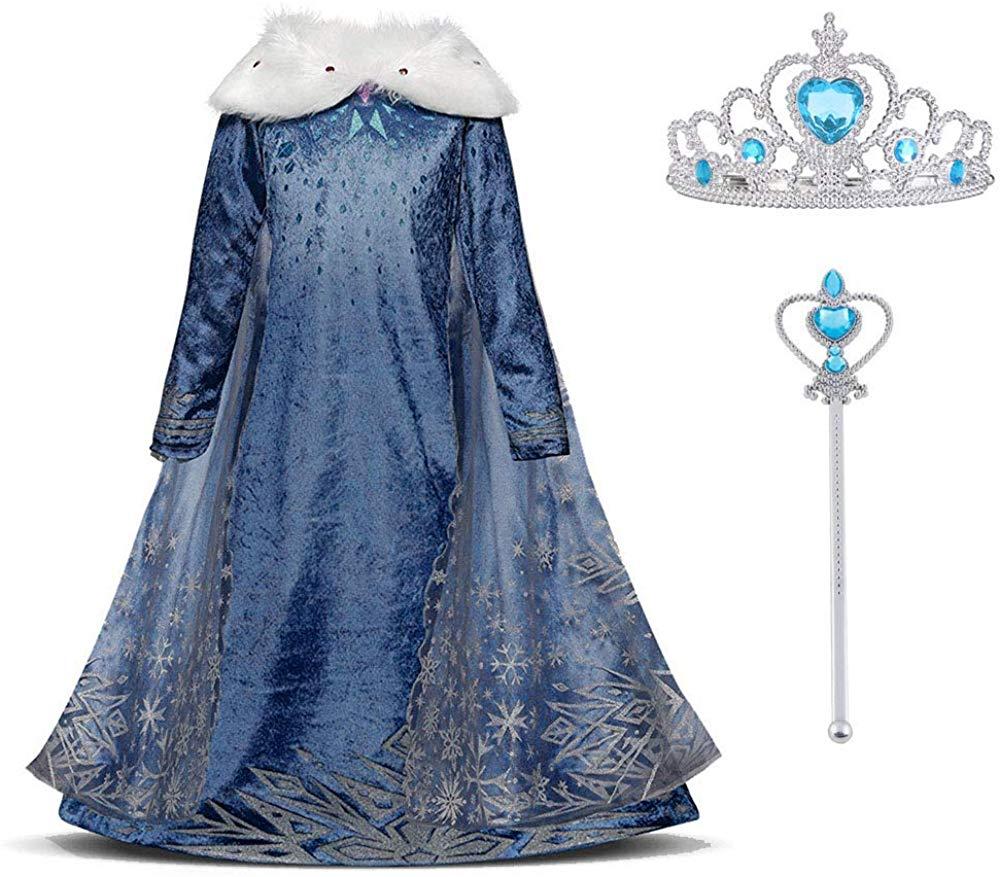 Disfraz de Elsa de Frozen 2
